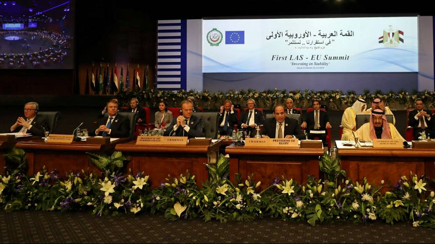نشست کشورهای عربی-اروپایی آغاز شد؛  تاکید بر سرمایه گذاری با هدف کاهش بیکاری در خاورمیانه