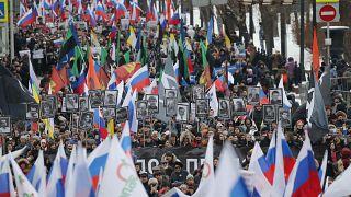 Rússia: milhares nas ruas por Boris Nemtsov