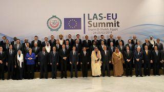 Arap liderlerinin yarısının katılmadığı AB-Arap Birliği Zirvesi başladı