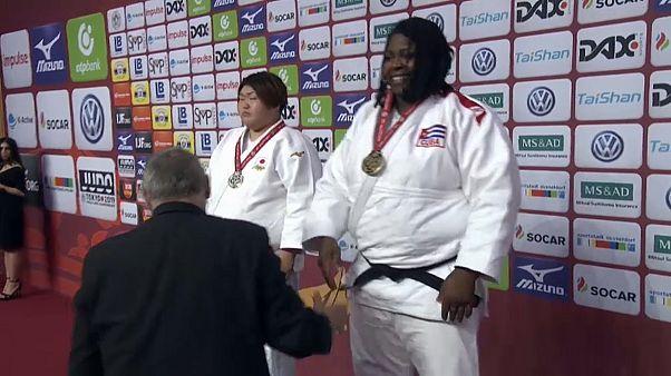 Grand Slam de Düsseldorf conclui com ouro para o Japão, Azerbaijão, Brasil e Cuba