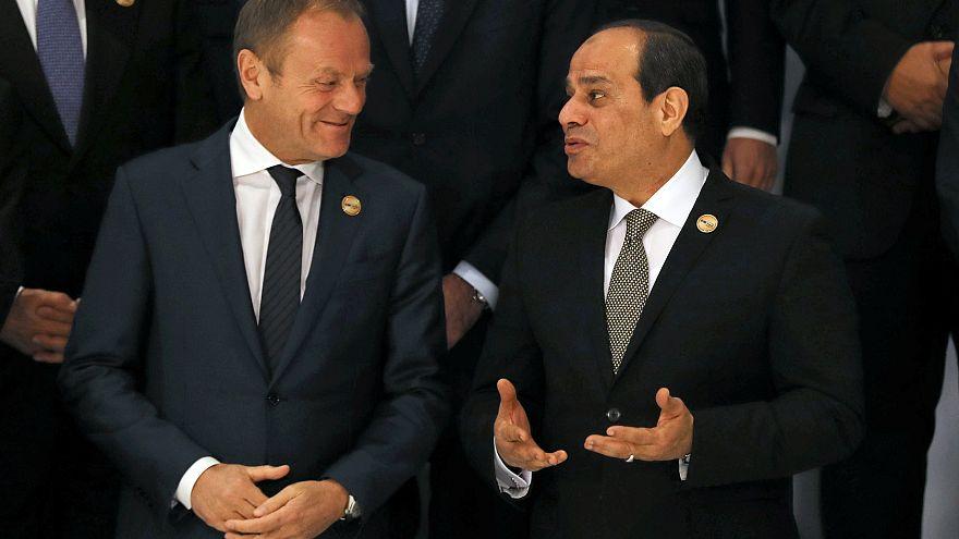 حضور ملفات الهجرة والإرهاب وغياب حقوق الانسان في القمة العربية الأوروبية بشرم الشيخ