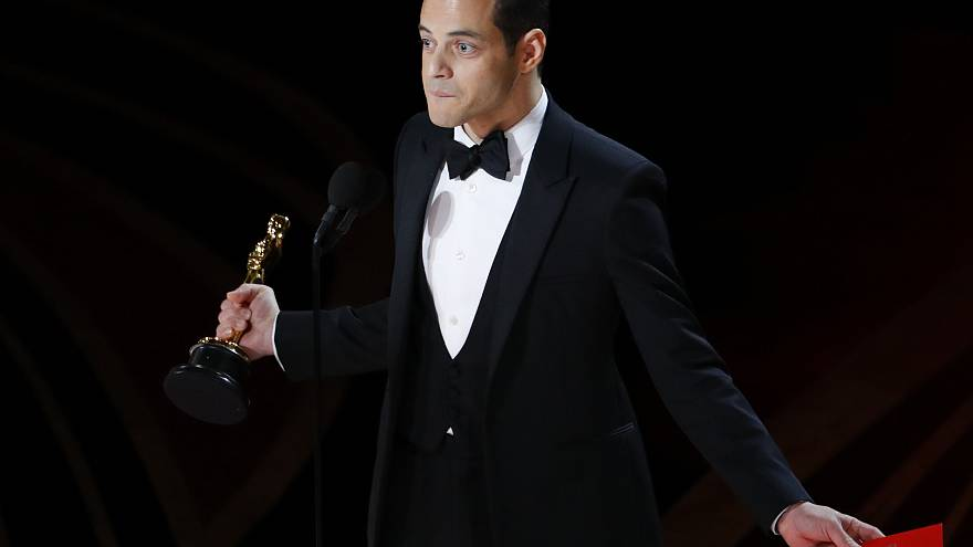 Rami Malek wins Best Actor for his role as Queen singer Freddy Mercury in 'Bohemian Rhapsody'