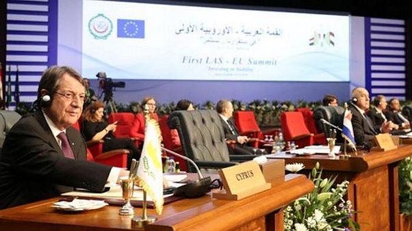 Η παρέμβαση του Νίκου Αναστασιάδη στη Σύνοδο Ε.Ε. - Αραβικού Συνδέσμου