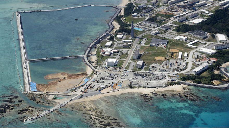 دولت ژاپن به رغم نتیجه همهپرسی طرح جابجایی پایگاه آمریکایی را اجرا میکند