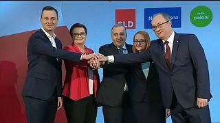 Polnische Opposition schmiedet Europa-Pakt