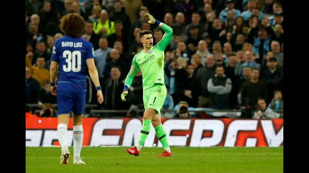 A Chelsea nem bünteti meg renitens kapusát