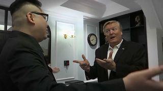 """""""Kim"""" und """"Donald"""" treiben in Hanoi ihr Unwesen"""