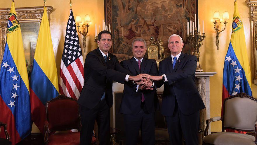 """Venezuela : les Etats-Unis disent soutenir Juan Guaido """"à 100%"""""""