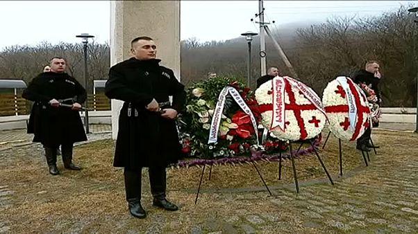 Georgien gedenkt der sowjetischen Besatzung
