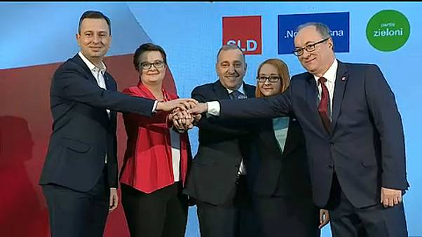Polish opposition parties unite against ruling conservatives