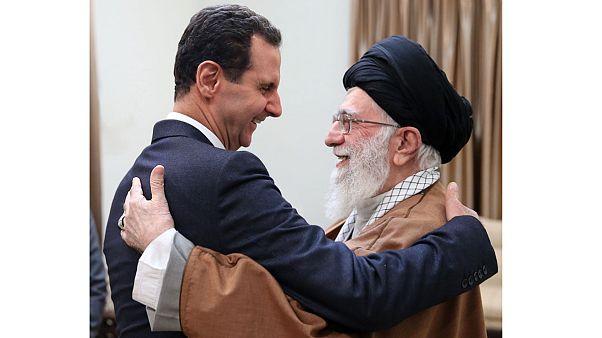 بشار الأسد وخامنئي