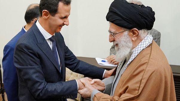 Esad iç savaşın başlangıcından bu yana ilk defa İran'a gitti