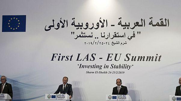 نخستین نشست سران اتحادیه عرب و اتحادیه اروپا