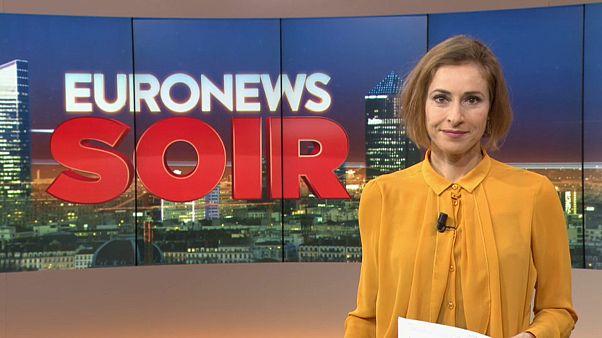 Euronews Soir : l'actualité de ce 25 février