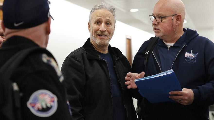 Jon Stewart visits Congress