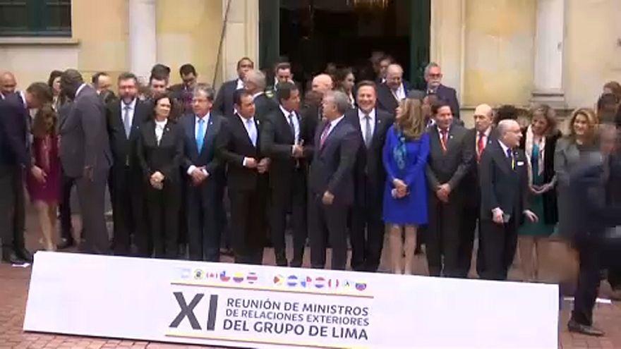 El Grupo de Lima aboga por una solución pacífica en Venezuela