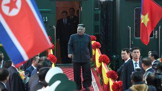 Le dictateur Kim Jong Un au Vietnam, il attend Trump