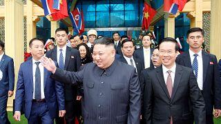 Kim Jong Un in Dong Dang (Vietnam)