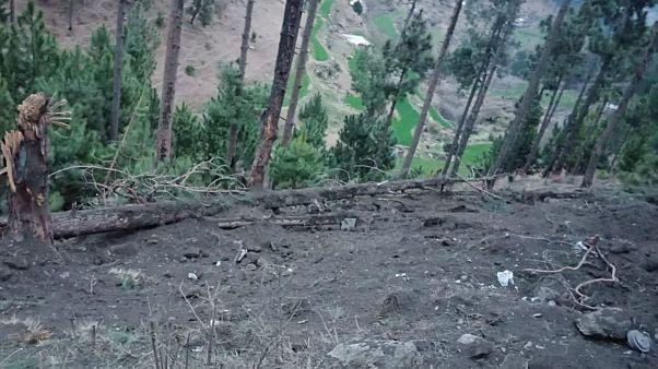 حمله هوایی هند به اسلامگرایان در منطقه تحت کنترل پاکستان در کشمیر
