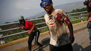 Confrontos na fronteira Venezuela-Colômbia agravam-se