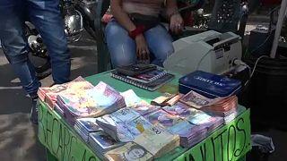 A dura vida dos venezuelanos em tempos de hiperinflação