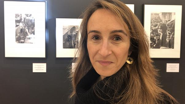 Pascale Alhadeff, director of the Belgian Jewish museum