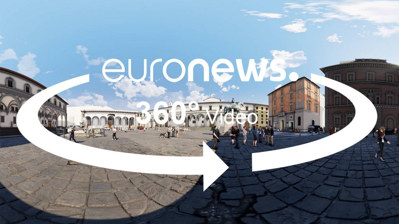 Watch in 360°: Florence's Institute of the Innocents