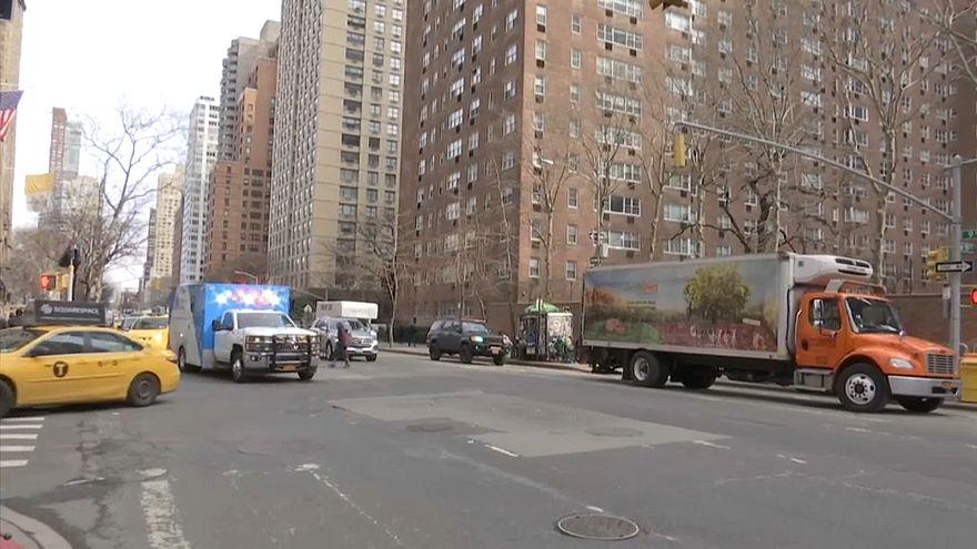 A typical New York City ambulance