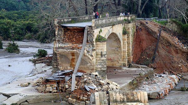 «Κατακλυσμός» στην Κρήτη: Έβρεχε αδιάκοπα επί 41 ώρες