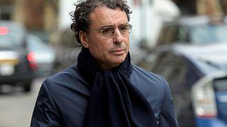 Alexandre Djouhri à Londres, le 22 février 2018