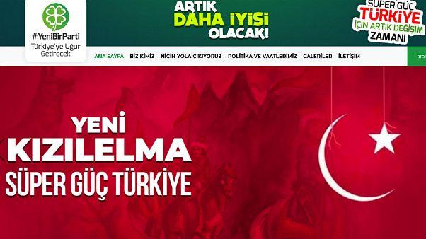 Merkez sağda kurulacağı konuşulan partinin internet sitesi hizmete girdi: Yeni Parti