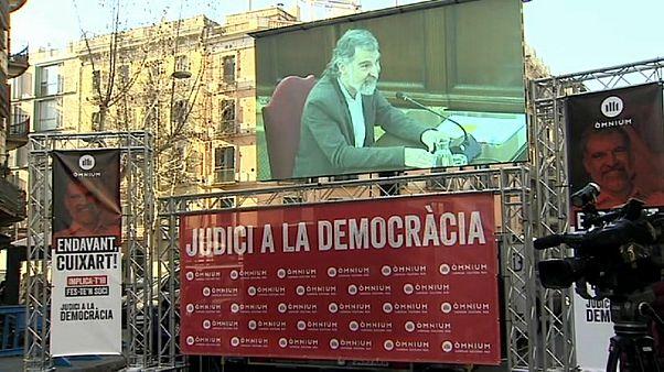 """Juicio a los líderes del """"procés"""": Cuixart y Forcadell cierran las declaraciones"""