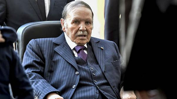 Cezayir'i 20 yıldır yöneten Buteflika bir kez daha resmen aday oldu: Protestolar sürüyor