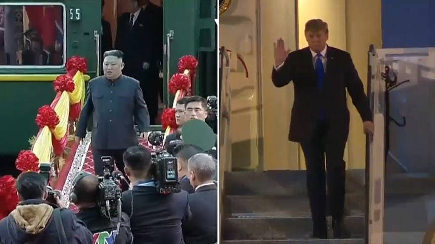 Kim e Trump já estão no Vietname
