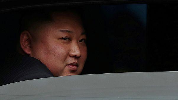 Kim Jong Un vor dem Gipfel mit Donald Trump in Hanoi