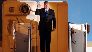 Ο Ντόναλντ Τραμπ έφτασε στο Βιετνάμ