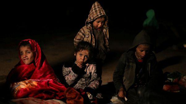 Zivilisten verlassen IS-Bastion Baghus im Osten Syriens