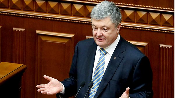 Politicians launch impeachment proceedings against Ukrainian President Petro Poroshenko