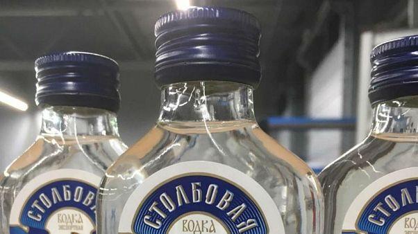 90.000 Wodka-Flaschen angeblich auf dem Weg nach Pjöngjang beschlagnahmt