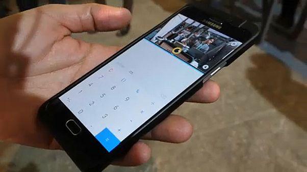 """""""العين الثالثة"""" أحد أهم الابتكارات في المؤتمر العالمي للهواتف الذكية بإسبانيا"""