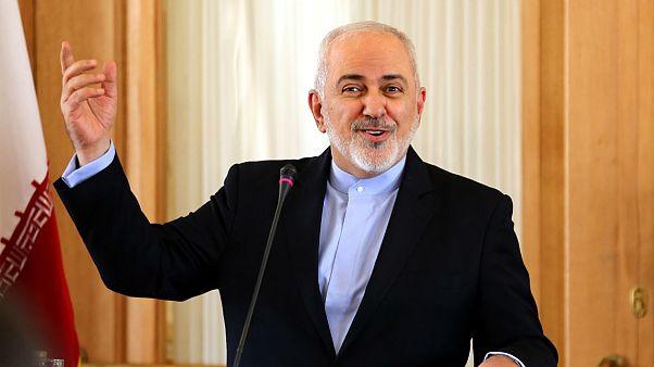 ظریف دو هفته قبل از استعفا در یک کنفرانس خبری در تهران