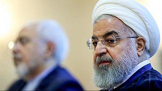 الرئيس الإيراني يقف إلى جانب حليفه ظريف بعد استقالته المفاجئة
