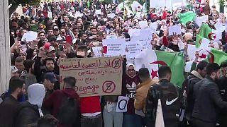Rebelión estudiantil en Argelia