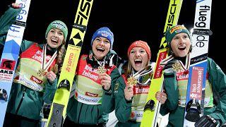 Nordische Ski-WM in Seefeld: Wieder Gold für Deutschland