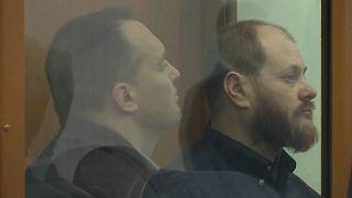 Руслан Стоянов и Сергей Михайлов на приговоре в МОВС