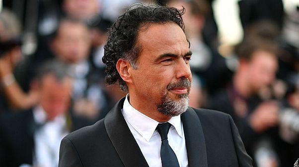 Alejandro González Iñárritu au Festival de Cannes, 22 mai 2017