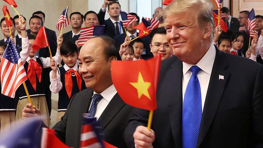 Trump trifft vietnamesischen Präsidenten - Luftfahrt-Verträge unterzeichnet