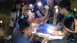 انهيار منجم ذهب في إندونيسيا يسفر عن مقتل 3 وإصابة 60 شخصاً