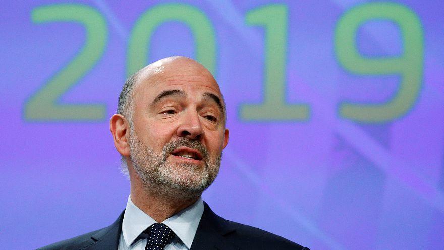 Pierre Moscovici, comissário europeu para os Assuntos Económicos