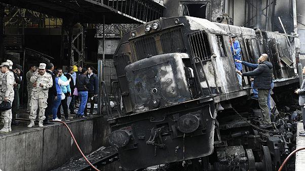 سانحه قطار در مصر